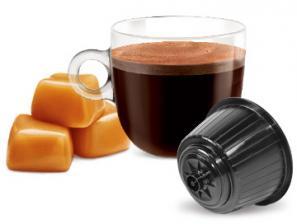 Capsule Boissons compatibles avec le système NESCAFÉ® Dolce Gusto®* Caffè Bonini Caffè Al Caramello