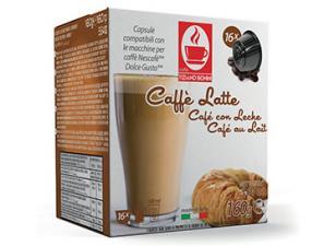 Kapsel Kompatibel Getränke mit NESCAFÉ® Dolce Gusto®* System Caffè Bonini Caffè Latte