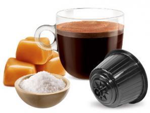 Capsule Boissons compatibles avec le système NESCAFÉ® Dolce Gusto®* Caffè Bonini Caramel Salato