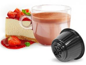 Capsule Compatible Drinks with NESCAFÉ® Dolce Gusto®* system Caffè Bonini Cheesecake Alla Fragola