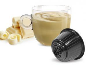 Capsule Bevande Compatibili con sistema NESCAFÉ® Dolce Gusto®* Caffè Bonini Cioccolata Bianco
