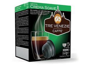 Capsule Caffè Compatibili con sistema NESCAFÉ® Dolce Gusto®* Caffè Tre Venezie Crema Soave