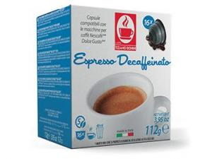 Compatible Coffee Capsules for the system Nescafé Dolce Gusto Caffè Bonini Decaffeinato