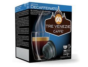 Capsule Caffè Compatibili con sistema NESCAFÉ® Dolce Gusto®* Caffè Tre Venezie Decaffeinato