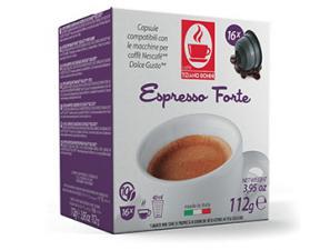 Kompatibel Kaffeekapseln mit NESCAFÉ® Dolce Gusto®* System Caffè Bonini Forte