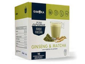 Capsule Compatible Drinks with NESCAFÉ® Dolce Gusto®* system Gimoka Ginseng & Matcha
