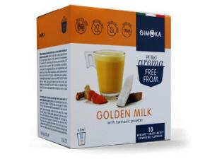Teas and infusions compatible capsules with NESCAFÉ® Dolce Gusto®* system Gimoka Milk And Turmeric