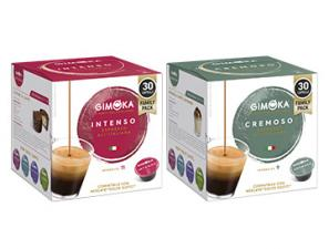 Compatible Coffee Capsules for the system Nescafé Dolce Gusto Gimoka Gimoka tasting kit