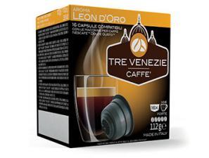 Capsule Caffè Compatibili con sistema NESCAFÉ® Dolce Gusto®* Caffè Tre Venezie Leon D'oro