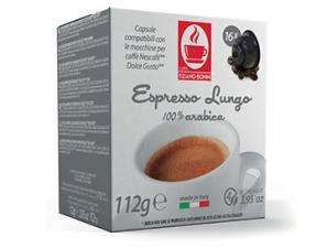 Compatible Coffee Capsules for the system Nescafé Dolce Gusto Caffè Bonini Lungo