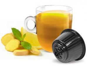 Capsules the et infusions compatibles avec le système NESCAFÉ® Dolce Gusto®* Caffè Bonini Zenzero E Limone
