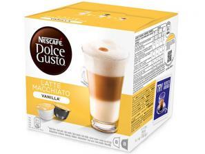 Capsule Original Drinks per NESCAFÉ® Dolce Gusto®* system NESCAFÉ®* Latte Macchiato Vanilla