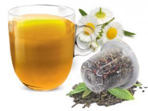 Teas and infusions compatible capsules with Nespresso®* system Caffè Bonini Camomilla Setacciata