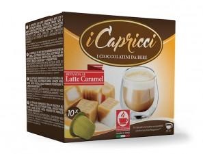 Capsule Compatible Drinks for the system Nespresso Caffè Bonini Capricci Latte Caramel