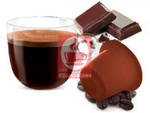Kapsel Kompatibel Getränke mit Nespresso®* System Caffè Bonini Cioccocolato