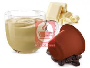 Kapsel Kompatibel Getränke mit Nespresso®* System Caffè Bonini Cioccolato Bianco