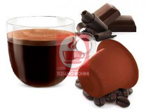 Kapsel Kompatibel Getränke mit Nespresso®* System Caffè Bonini Cioccolino