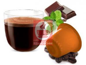 Capsule Compatible Drinks with Nespresso®* system Caffè Bonini Cioccomenta