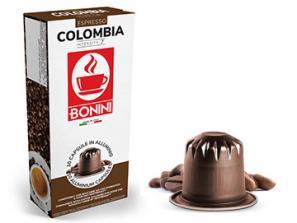 Capsules de café compatibles avec le système Nespresso®* Caffè Bonini Colombie