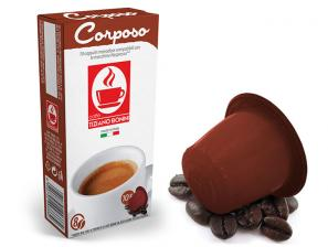 Compatible Coffee Capsules with Nespresso®* system Caffè Bonini Corposo