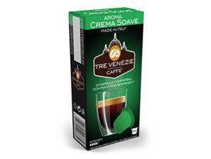 Capsule Caffè Compatibili con sistema Nespresso®* Caffè Tre Venezie Crema Soave