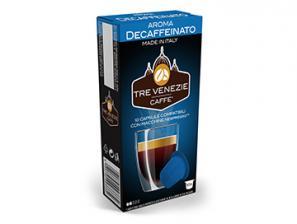 Capsule Caffè Compatibili con sistema Nespresso®* Caffè Tre Venezie Decaffeinato