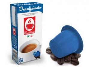 Compatible Coffee Capsules for the system Nespresso Caffè Bonini Decaffeinato