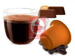 Kapsel Kompatibel Getränke mit Nespresso®* System Caffè Bonini Gianduia