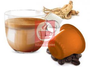 Capsule Compatible Drinks with Nespresso®* system Caffè Bonini Ginseng