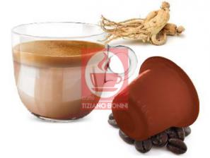 Capsule Compatible Drinks with Nespresso®* system Caffè Bonini Ginseng Amaro