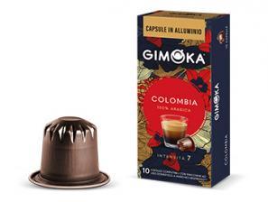Capsules de café compatibles avec le système Nespresso®* Gimoka Colombie