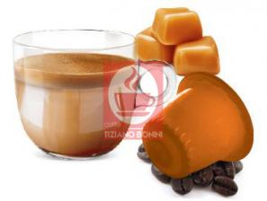 Capsule Compatible Drinks with Nespresso®* system Caffè Bonini Latte Caramel