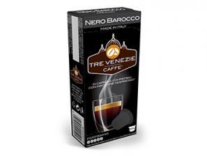 Capsule Caffè Compatibili con sistema Nespresso®* Caffè Tre Venezie Nero Barocco