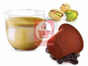Kapsel Kompatibel Getränke mit Nespresso®* System Caffè Bonini Pistacchino