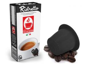 Compatible Coffee Capsules with Nespresso®* system Caffè Bonini Ristretto Compatibile