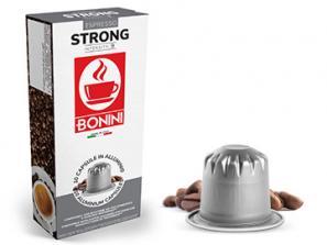 Съвместим кафе на капсули със Nespresso®* система Caffè Bonini Силна