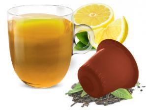 Capsule The e Tisane Compatibili con sistema Nespresso®* Caffè Bonini Tè Al Limone