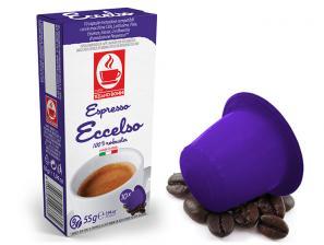 Capsules de café compatibles avec le système Nespresso®* Caffè Bonini Eccelso Bag