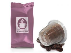 Capsules de café compatibles avec le système Nespresso®* Caffè Bonini Seta Bag