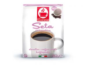 Compatible coffee pods for the system Senseo  Caffè Bonini Seta