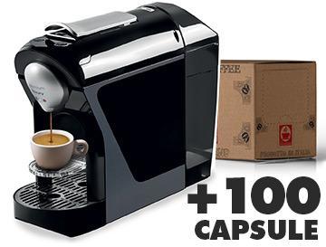 Caffè Bonini Macchina Pro + 100 Capsule