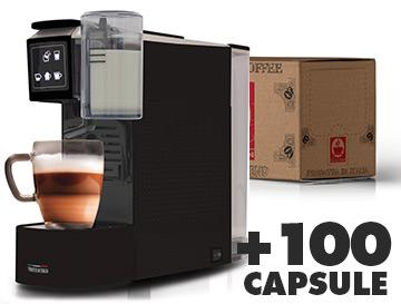 Caffè Bonini Tea & milk machine + 100 Capsules